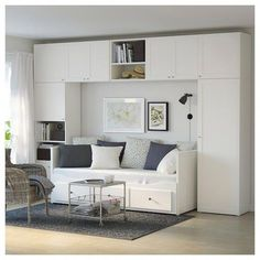 PLATSA wardrobe – white, fonnes sannidal – IKEA PLATSA wardrobe with … - bedroom furniture layout Ikea Bedroom Design, Modern Bedroom, Bedroom Decor, Furniture Layout, Bedroom Furniture, Furniture Makeover, Furniture Sets, Ikea Wardrobe Storage, Pax Wardrobe
