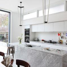 30 Modern Marble Kitchen Design Ideas  Kitchen Design Marbles Adorable Marble Kitchen Designs Review