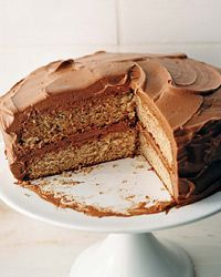 Frostings, Including Chile Chocolate Buttercream | Food and Wine. I've been scheming about a cinnamon yellow cake with dark chocolate-chile frosting. This is a place to start.