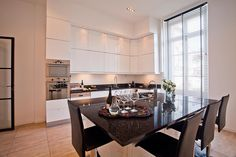 Dinner is being prepared in this kitchen. A glass of wine, while waiting?   #franceresidences #eblifestyle