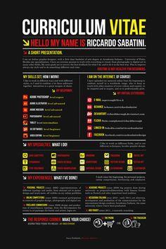 RESUME 2011 BLACK by ~RichardTheRough (Riccardo Sabatini) on deviantART