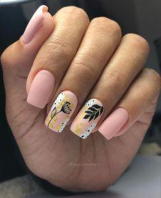 Coffin Nails Designs Summer, Summer Gel Nails, Cute Acrylic Nail Designs, Colorful Nail Designs, Cute Acrylic Nails, Pink Nails, My Nails, Chic Nails, Manicure E Pedicure