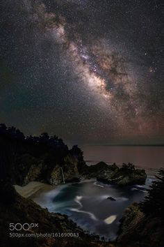 Milky McWay Falls Headed up to Big Sur this weekend to shoot McWay Falls under the Milky Way. 2 4-shot panos - 1 for the cove/waterfall - the other for the Milky Way. Enjoy! Camera: NIKON D810A Lens: Zeiss Distagon T 2/25 ZF.2 Focal Length: 25mm Shutter Speed: 180sec Aperture: f/3.2 ISO/Film: 2500 Image credit: http://ift.tt/29fOJJj Visit http://ift.tt/1qPHad3 and read how to see the #MilkyWay #Galaxy #Stars #Nightscape #Astrophotography