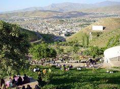 Kirmaşan City in Western Iran.