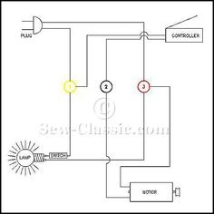 Phenomenal Generic Wiring Diagram For The Motor Light Power Cord And Wiring 101 Ivorowellnesstrialsorg