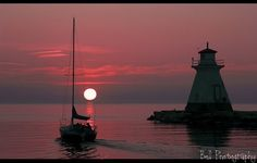((Sunset on Lake Huron - Paula Bell Photography)) Best Sunset, Beautiful Sunset, Beautiful Places, Southampton Ontario, Northern Lights Canada, Scarborough Ontario, Huron County, Shoot The Moon, Good Old Times