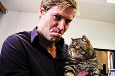 Dhr Chris Brown from Bondi vet Veterinary Services, Veterinary Technician, Crazy Cat Lady, Crazy Cats, Dr Chris Brown, Pet Vet, Kevin Costner, Wtf Face, Cat People