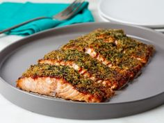 Get The Best Baked Salmon Recipe from Food Network Baked Salmon Recipes, Fish Recipes, Seafood Recipes, Dinner Recipes, Baby Recipes, Ww Recipes, Sauce Recipes, Dessert Recipes, Gourmet