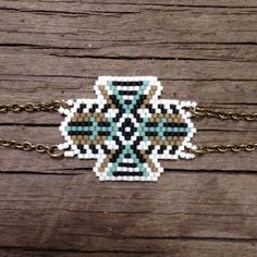 diy peyote brick stitch perles Masana.