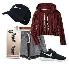 """Untitled #9"" by kyannihipps on Polyvore featuring NIKE, American Eagle Outfitters and Casetify"
