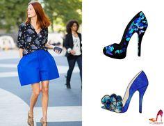 shoes design app_ YOU ARE THE DESIGNER_ color match_ blue