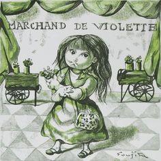 スミレ売り Marchand de Violette