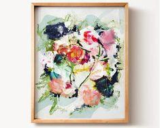 Abstract Art No. 25, Wall art, PRINTABLE art, Colorful art, Abstract print, Modern painting, Abstract painting, Brushstroke art, Wall decor