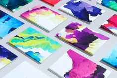 Variable Data Printing. GF Smith by London design Studio Field
