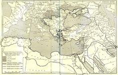 Map of Ottoman Empire. 1863+