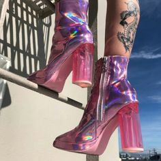 best cheap 9aca2 4a725 Free, fast shipping on Shagadelic Boots at Dolls Kill, an online boutique  for kawaii fashion. Shop Sugar Thrillz clothing, shoes,   accessories here.