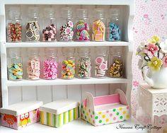 Candy, Canes, Sweets, Glass, Jar, Bottle, Fake, Doll, Food, Kawaii, Cute, Mini, Blythe, Little, 1 6, 1:12, Gift, Small, Tiny, bjd, yosd, dolls, miniatures, miniature, dollhouse, box,  wedding, polymer clay, Canister, handmade, sylvanian families, confectionery, valentine, christmas, Easter, Birthday, Lollipop