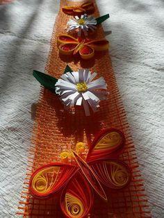 Creatii Quilling de Primavara - Flori pe banda iuta