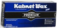 "Dixie Kabnet Wax Dry Wax Paper 500 sheets (1-500ct.) 10"" x ..."
