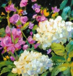 """Daily Paintworks - """"Lovejoy"""" - Original Fine Art for Sale - © Libby Anderson Beautiful Flowers Pictures, Flower Pictures, Pictures For Sale, Fine Art Auctions, Arte Floral, Pastel Art, Meet The Artist, Fine Art Gallery, Art For Sale"""