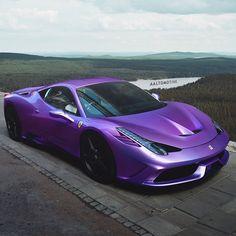 Purple Ferrari
