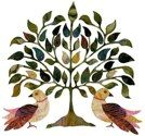 101 Tree of Life by Dinah Jefferies / Garden City Gateworks (contemporary baltimore applique patterns, batik fabrics)