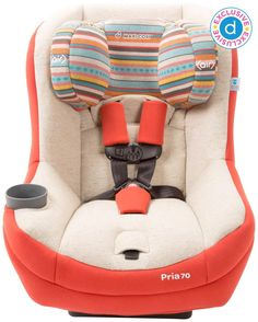 The cutest car seat. (Maxi-Cosi Pria 70 Convertible)