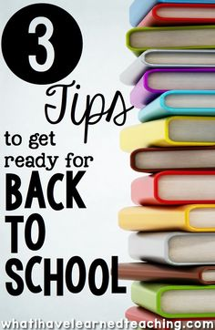 The beginning of every school year can be overwhelming and exciting at the same time. Here are some things you can do to get ready for back to school.