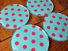 Coasters (designsbybeccashop - etsy)