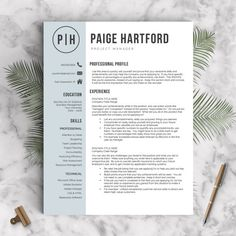 3 page resumes