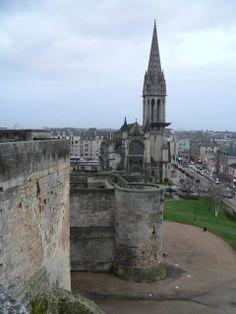 Château de Caen Caen, Normandy, Tower Bridge, Travel, Normandie, Viajes, Destinations, Traveling, Trips