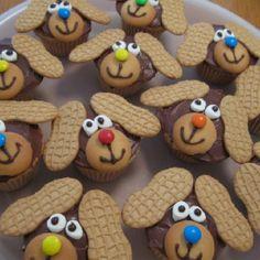 Adorable Chocolate Puppy Cupcakes Cupcakepedia