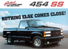"The 1990 Chevy 454SS. A truck that could have only sold like it did in the early 90's, when gas was uber cheap.  99% of the population who buys trucks, do so to haul stuff. This truck, was for ""the 1%"". It had a standard cab, with a center console, a 454 cubic inch V8 that got 10 miles per gallon"
