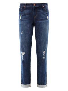 Aidan mid-rise boyfriend jeans by: J BRAND