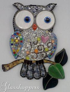 Cute Mosaic Owl