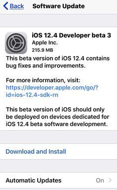Now, Apple has released the third Beta of iOS Apple Beta, Software Development, Third, Ios