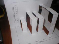Make 3D bar graphs! Math Notebook