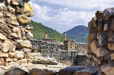 Bargala an ancient town - near Stip, Macedonia