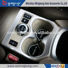 Exterior/interior Accessories HOT SELL!ABS chrome luxury-equiped/low equiped Car cup holder cover For nissan X-TRAIL 2014