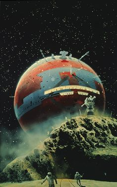 From 'OMNI', By Chris Foss