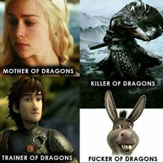 Game of Thrones | Skyrim | How to Train your Dragon | Shrek