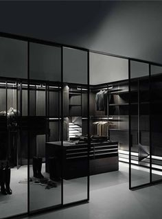 The Boffi systems come from proven craftsmanship, engineering capability and the growing demand for aesthetic customisation. Walk In Closet Design, Bedroom Closet Design, Home Room Design, Dream Home Design, Modern House Design, Home Interior Design, Closet Designs, Master Bedroom, Dream House Interior