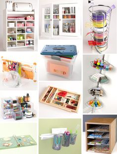 Embellishments Part 1 Craft Storage Ideas ᑕᖇᗩᖴt