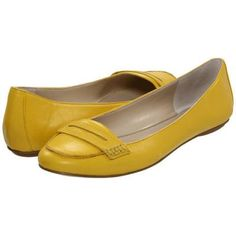 Nine West OpenSesame Women's Dress Flat Shoes - Yellow