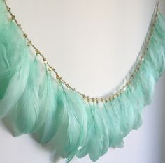 Feather Garland, Turquoise Necklace, Jewelry, Fashion, Moda, Jewels, Fashion Styles, Schmuck, Jewerly