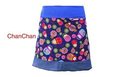 Damenrock aus Recyclingmaterialien | Ansalia.ch