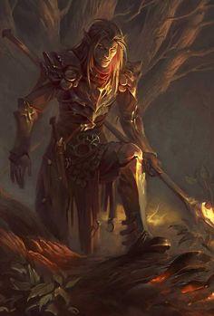 Fantasy Heroes, Fantasy Male, Fantasy Warrior, Fantasy Rpg, Dark Fantasy Art, Medieval Fantasy, Fantasy Artwork, Fantasy Character Design, Character Concept