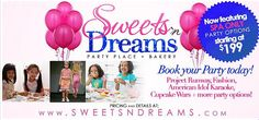 Give your child a memorable and affectionate spa party with Sweets N Dreams in Atlanta. Please email at: info@sweetsndreams.com and call us at 678-620-3228 for any enquiry and booking.