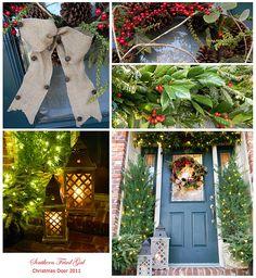Christmas Door Linky Party 2011