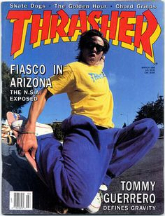 March 1988 Thrasher Magazine cover